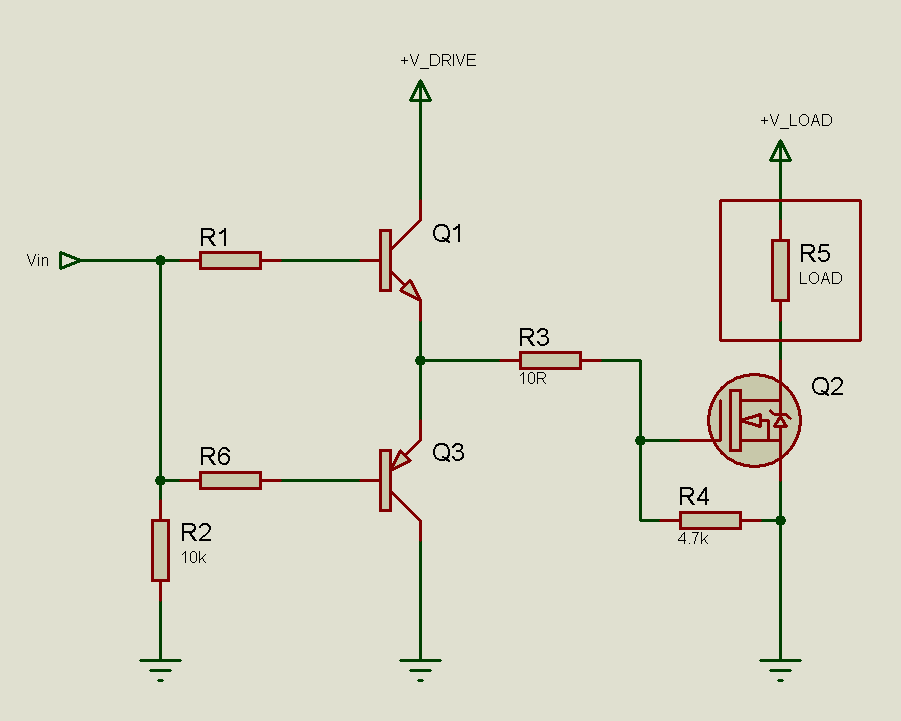 Tahmid S Low Side Mosfet Drive Circuits And Circuit Circuit Diagram Driving
