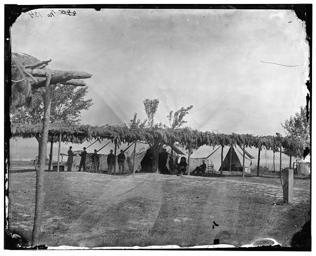 This Is A Picture Of Tents Of The General Hospital In City Point