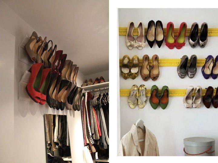Rangement chaussures moulure id es meubles d co pinterest rangement cha - Idee rangement chaussures ...