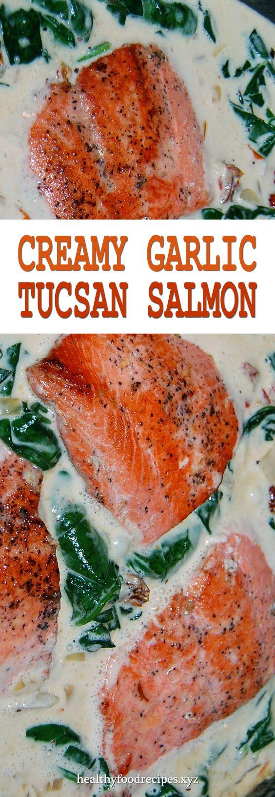 Photo of Creamy Garlic Butter Tuscan Salmon (Or Fish)