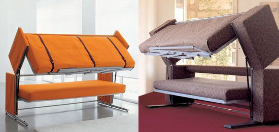 Best Modern Sofas Transforming Into Bunk Beds Sofa Bed Design 400 x 300