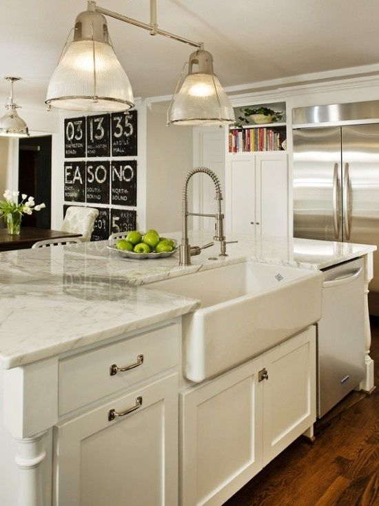 Oh How I Love This...apron Front Sink, Sweet Faucet