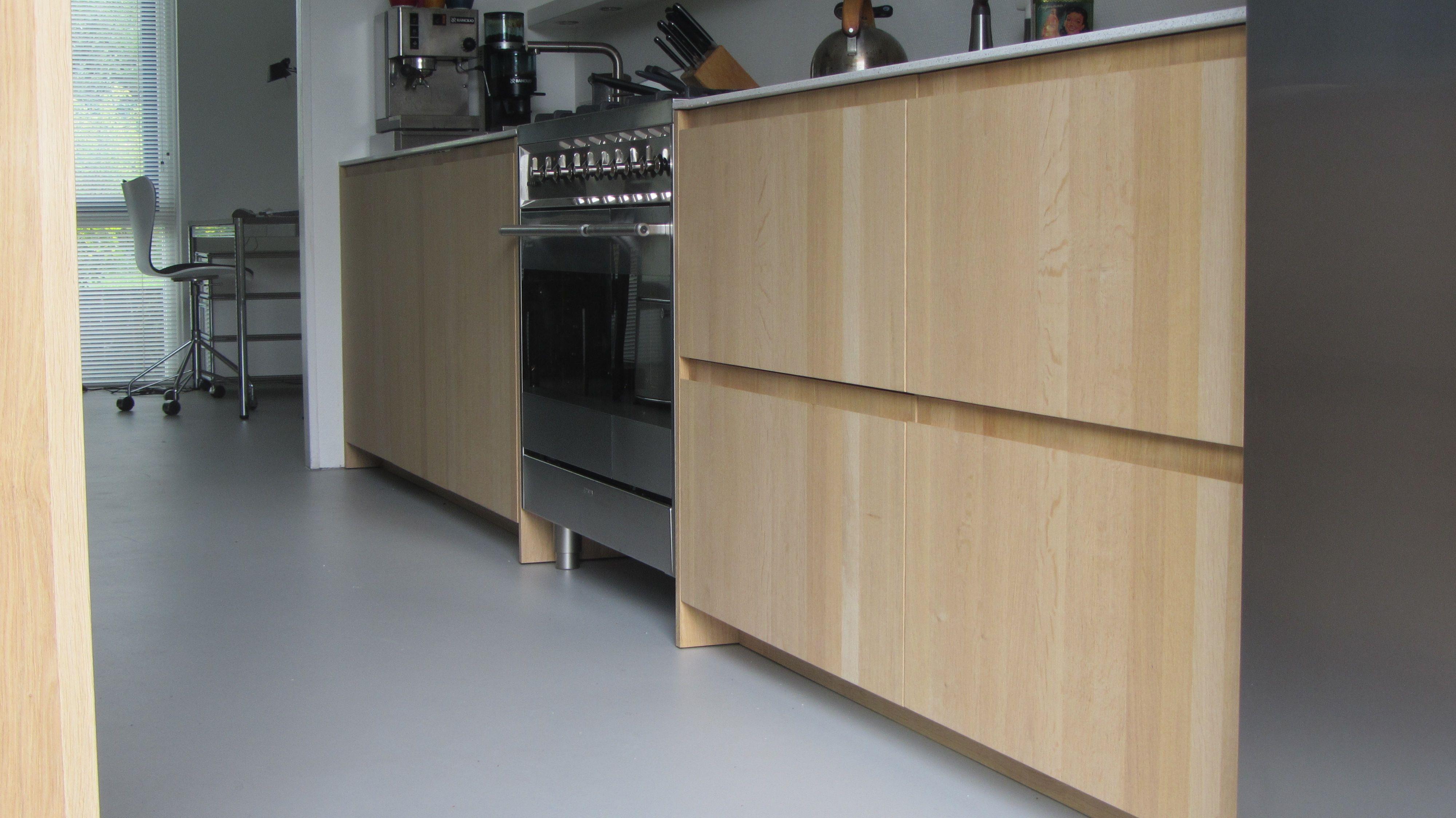 Witte Eiken Keuken : Witte eiken keuken eigentijdse moderne ruw eiken houten keukens
