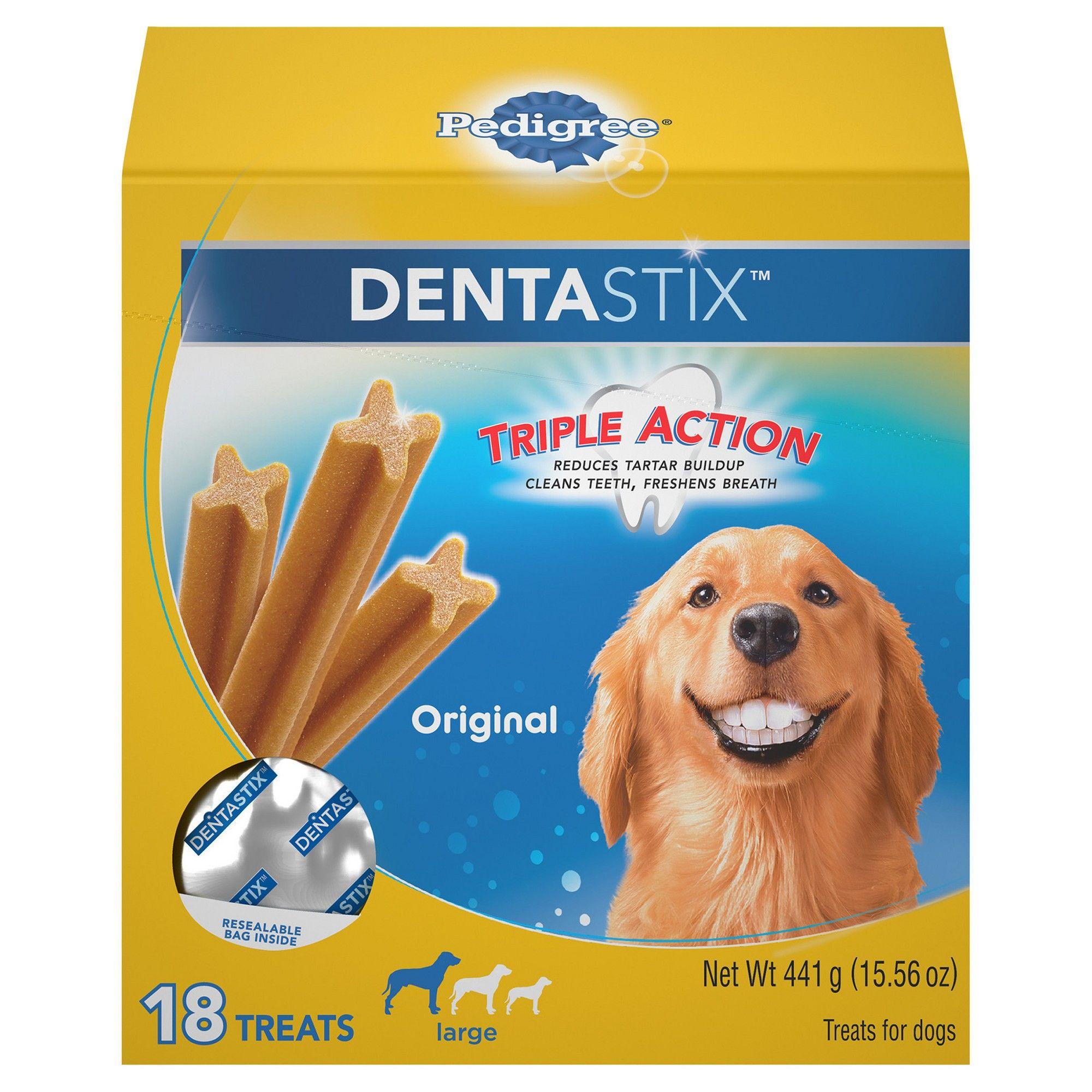 Pedigree Dentastix Large 18ct Dental Care Dog Dental Care The
