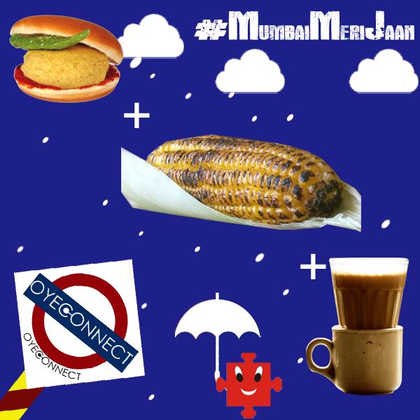 | MONSOON FUN |  Tried and tested combination !!  #VadaPav #CuttingChai #Bhutha #MumbaiBoli #MumbaiLife #monsoon
