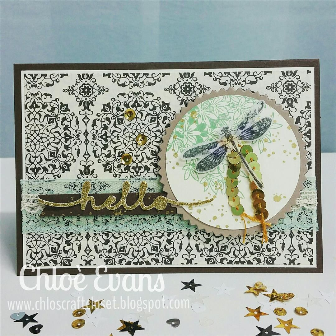 Chlo's Craft Closet - Stampin' Up! Independent Demonstrator: Can you case it? #108 - Awesomely Artistic