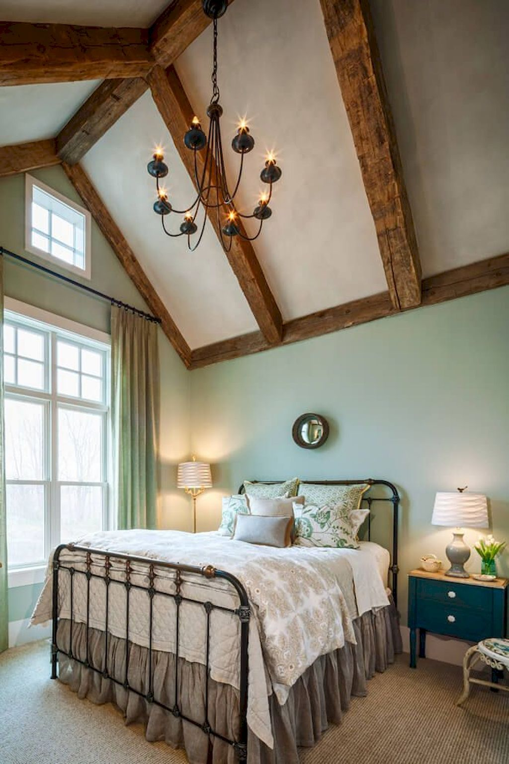 63 Gorgeous Farmhouse Master Bedroom Design Ideas   Modern ...