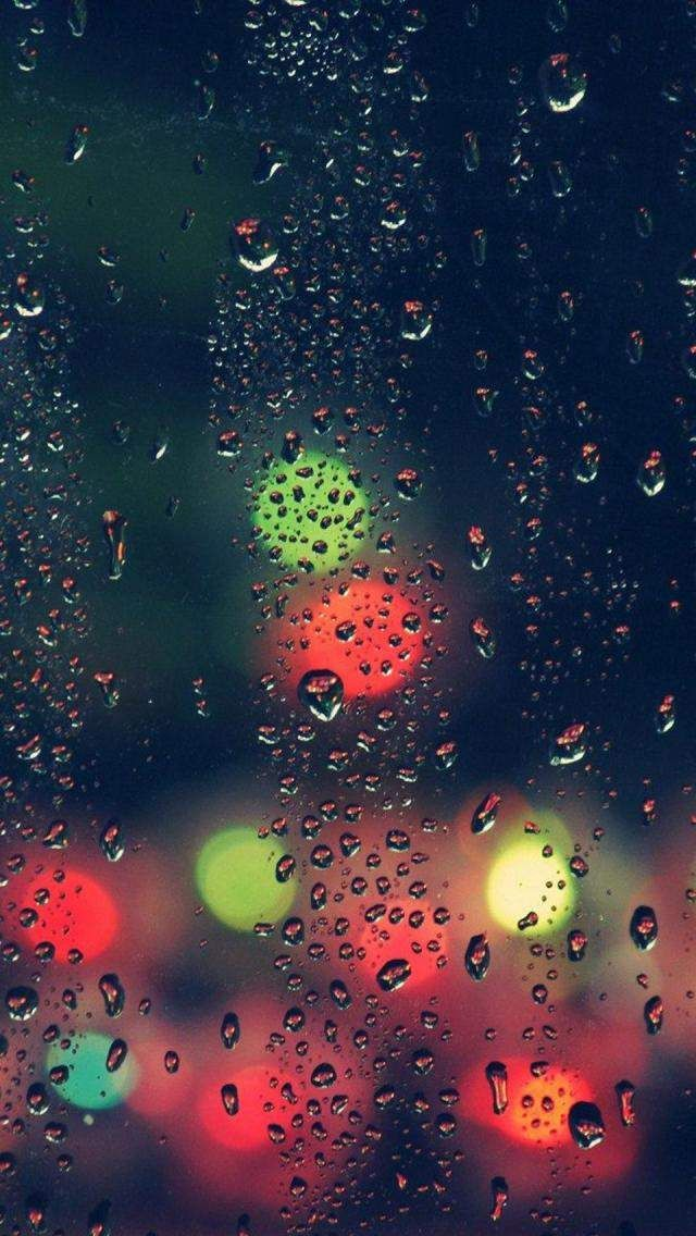 Download Window Raindrops Wallpapers To Your Cell Phone Abstract Drops Glass Hd Lights Nice Rain Background Hd Wallpaper Hd Phone Wallpapers Phone Wallpaper