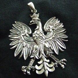 Silver polish eagle pendant gift ideas pinterest poland silver polish eagle pendant mozeypictures Images