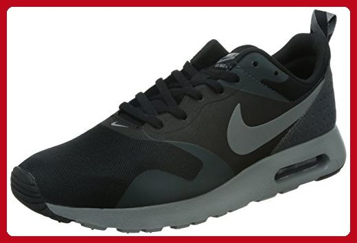 Nike Air Max Tavas Mens Running Shoes 705149-001 Black Cool Grey-Anthracite  8.5