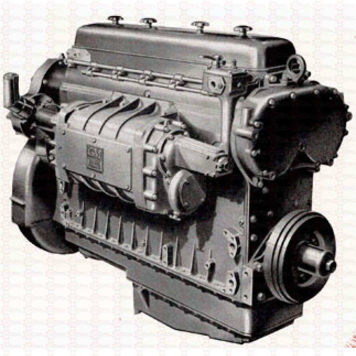 Piston-Less Detroit Diesel 6-71 Engine In-frame / Overhaul