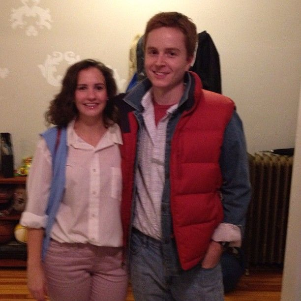 Marty Mcfly And Jennifer Costumes With Images Marty Mcfly