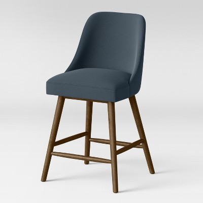 25 Geller Modern Counter Stool Ocean Project 62 Bluebrown