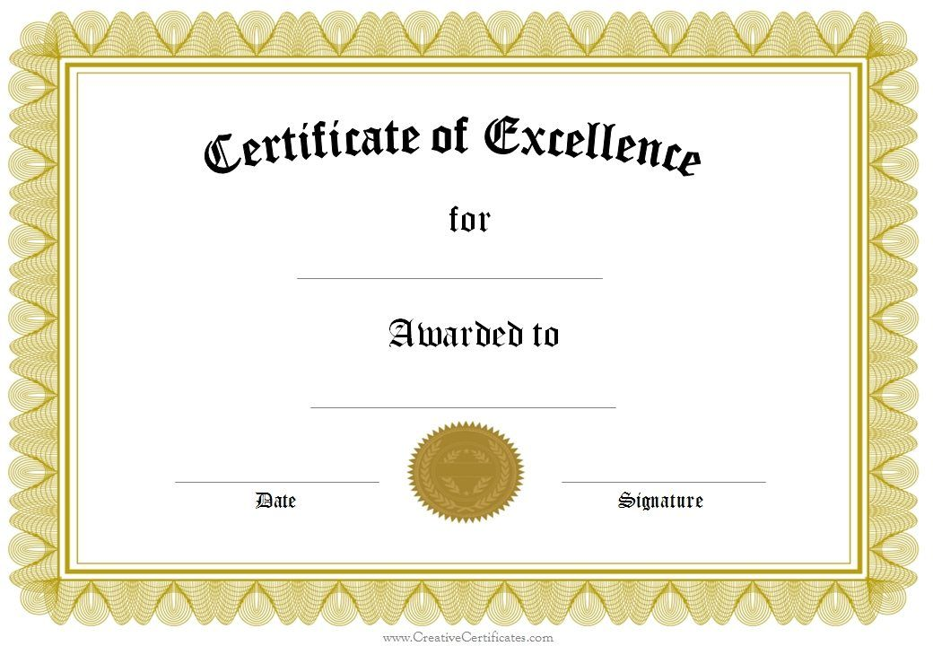 certificate templates - Yahoo Image Search Results certificates