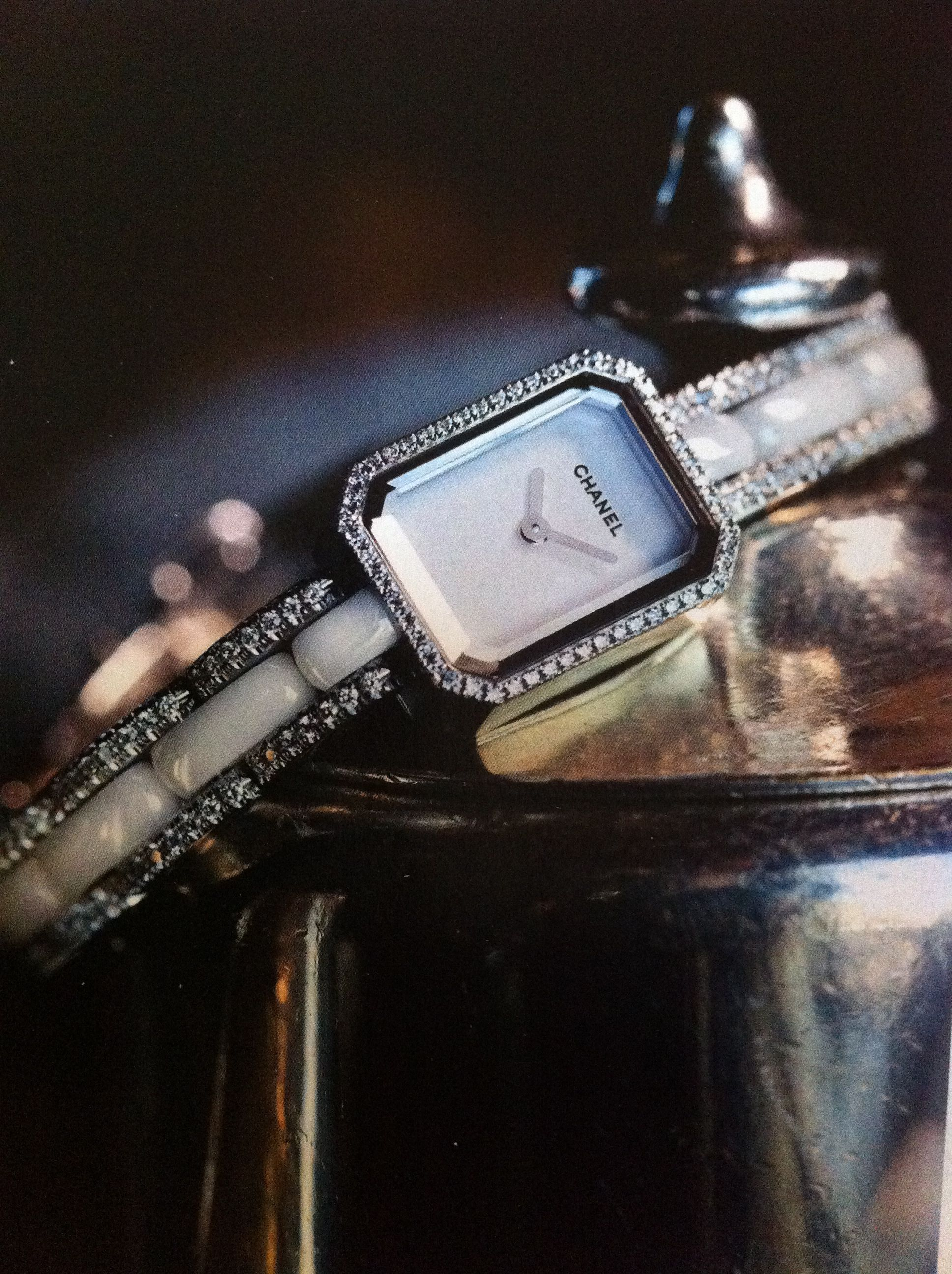 Chanel, love this watch!