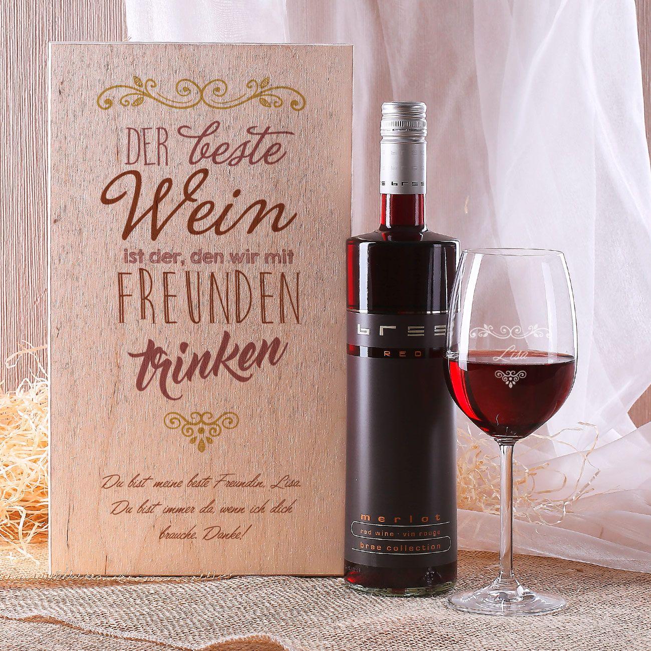 Lovely Sprüche Zum Wein Geschenk - zitate freundschaft