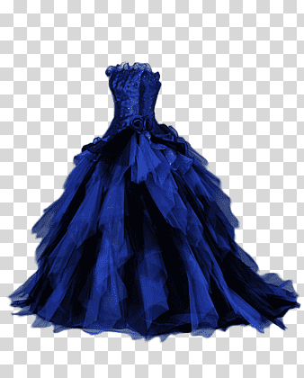 Ball Gown Dress Evening Gown Prom Dress Blue Wedding Electric Blue Formal Wear Png Cocktail Dress Wedding Wedding Flower Girl Dresses Cocktail Dress Prom