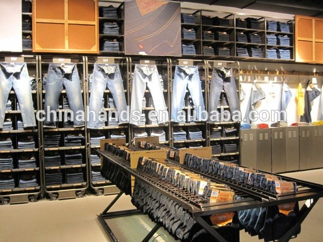 Source Famous Brand Garment Shop Interior Design on m.alibaba.com ...