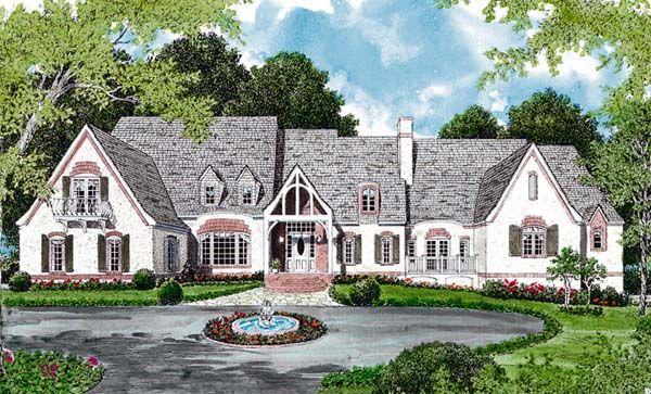 European House Plan 96902 | BLUEprints ~ Dream Homes | Pinterest ...