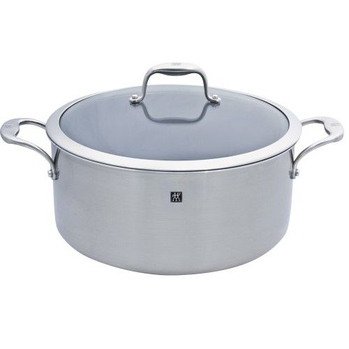 Zwilling JA Henckels Sol Thermolon Dutch Oven Ceramic Non Stick 8 Qt