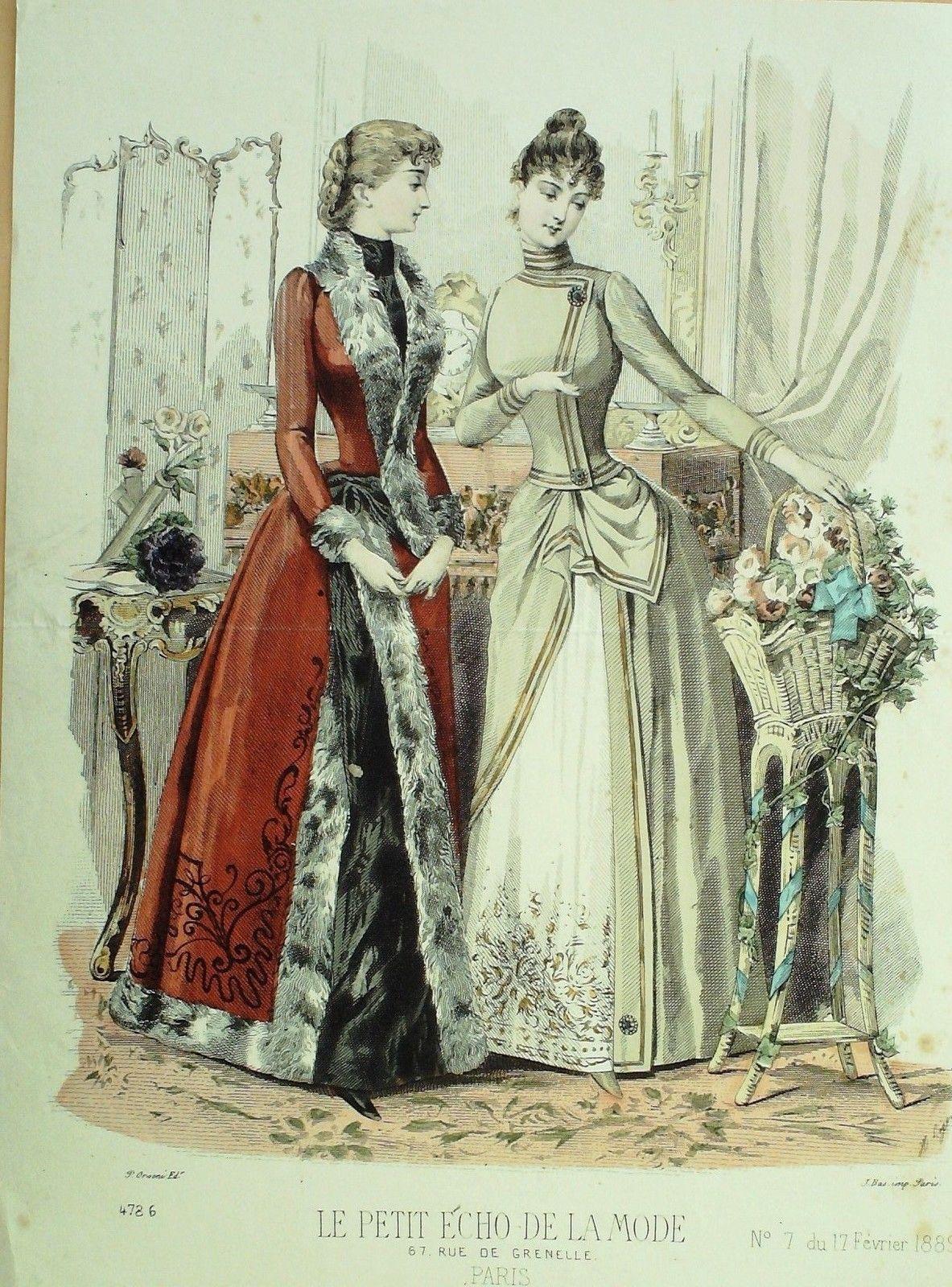 1889 (Feb. 17) Le Petit Echo de la Mode