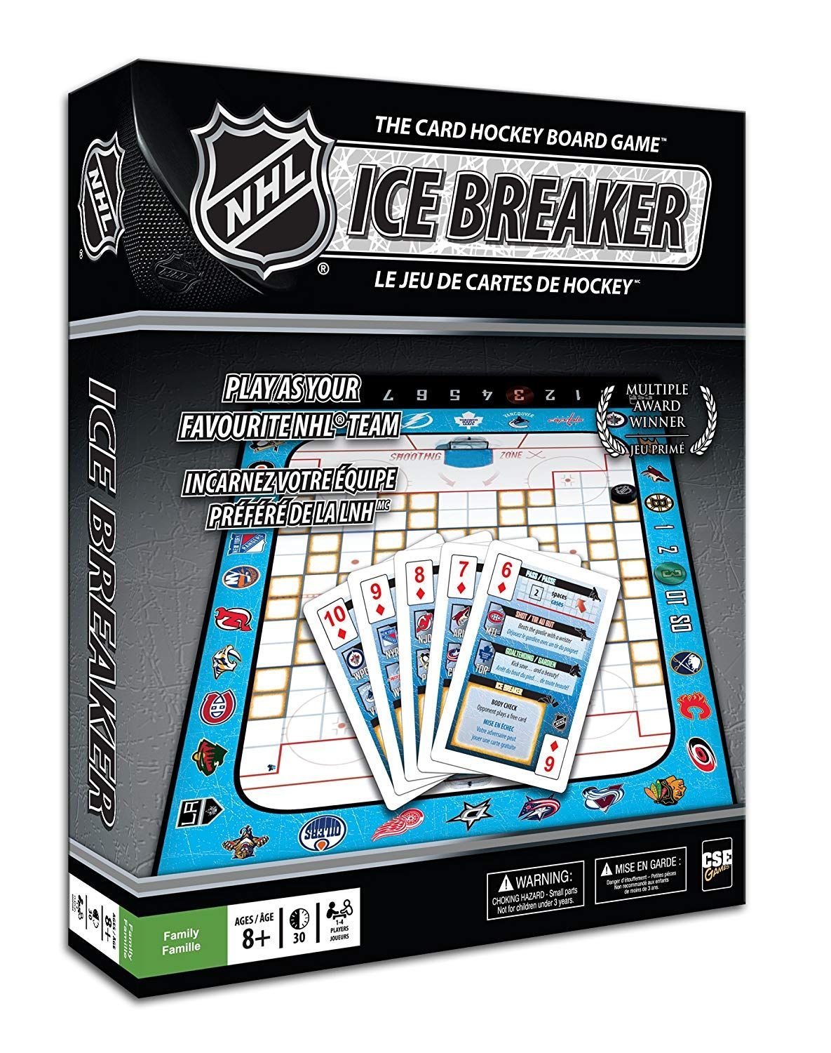 NHL Ice Breaker The Card Hockey Board Game *** Check this