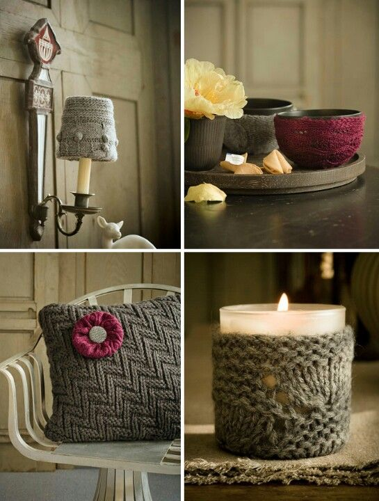 DIY - #knitted, nice for your home #decors!