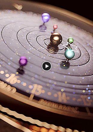 Planétarium Timepiece Arpels Midnight Van Cleefamp; wvnm80N