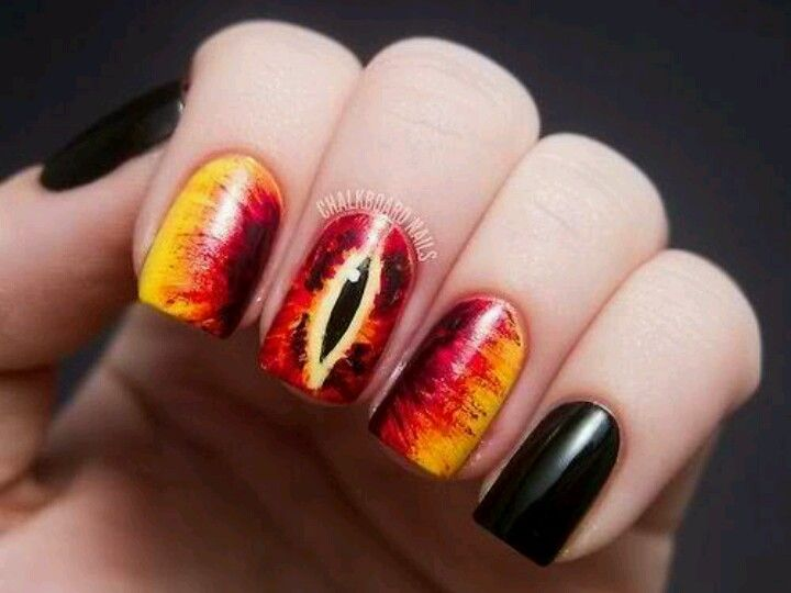 Lord Of The Rings Fan Or Not These Nails Are Very Pretty