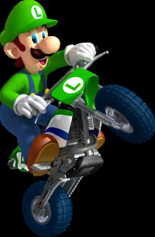 Mario Kart Wii Luigi Standard Kart Mario Kart Characters