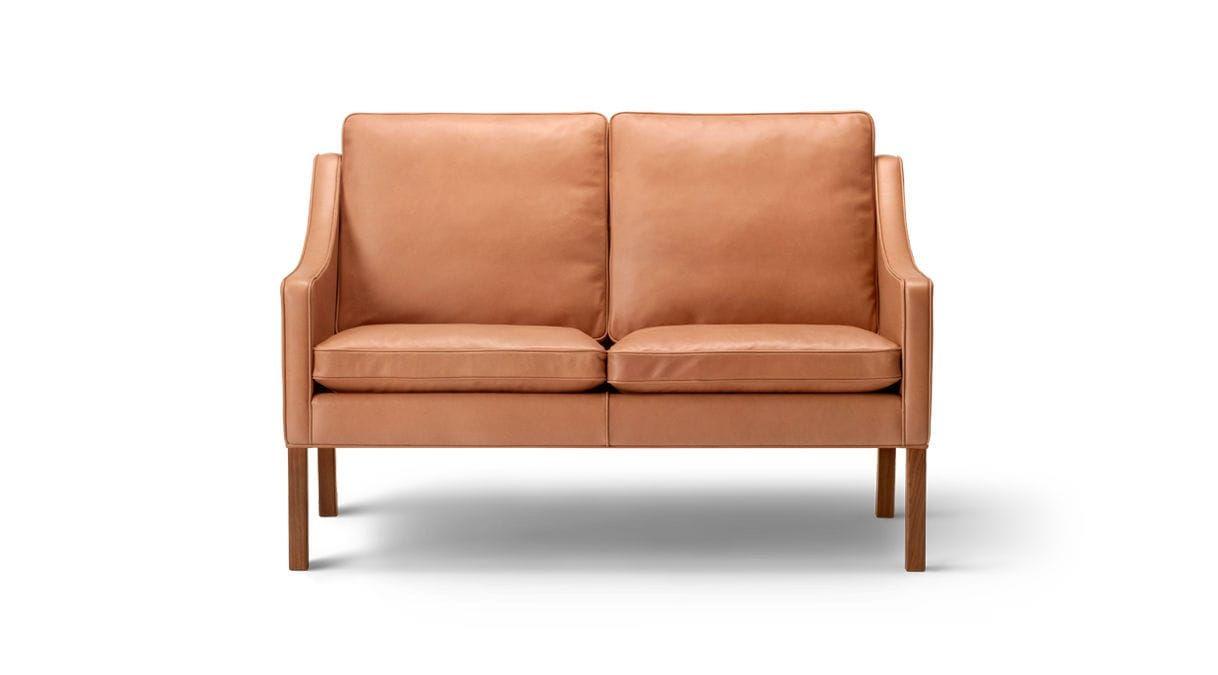 Scandinavian Design Sofa Leather 3 Seater 2 Seater 2208 By Borge Mogensen Fredericia Furniture Kanape Butorok