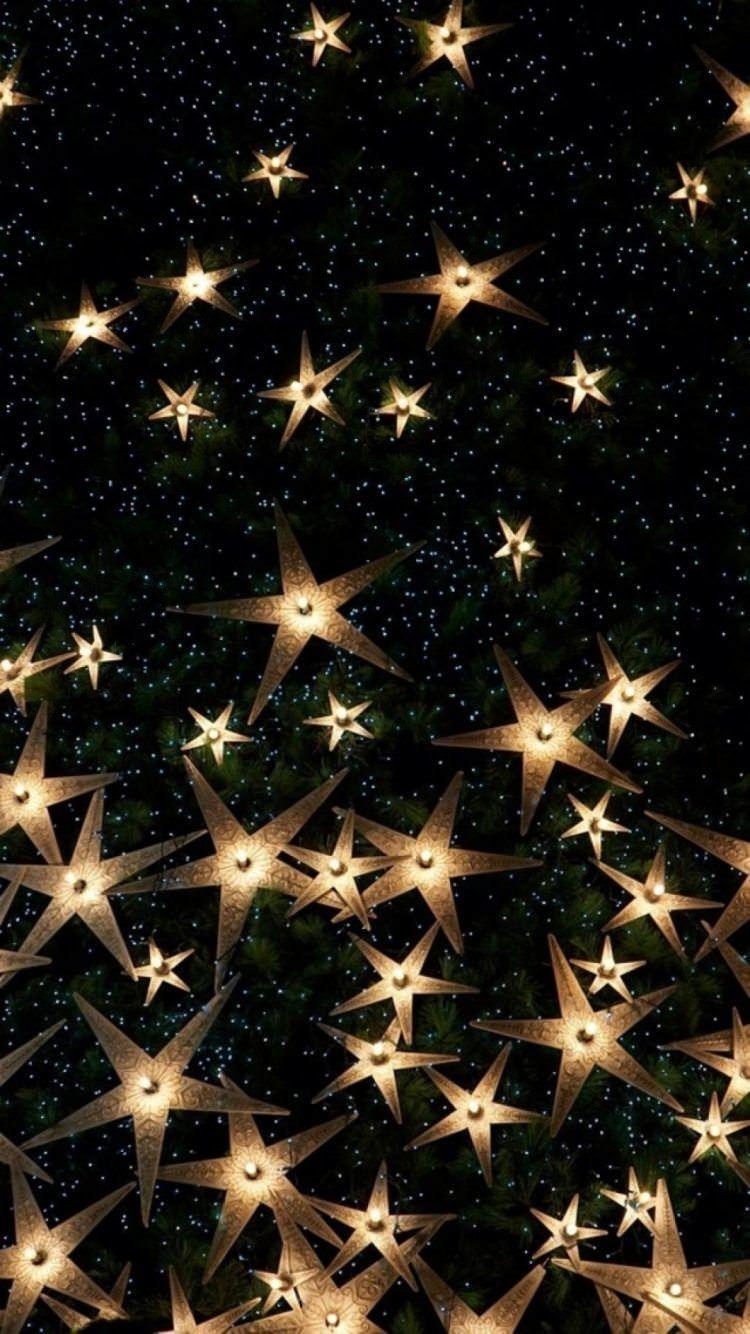 星型のキラキラ Iphone6壁紙 画像あり 壁紙 Iphone6 壁紙