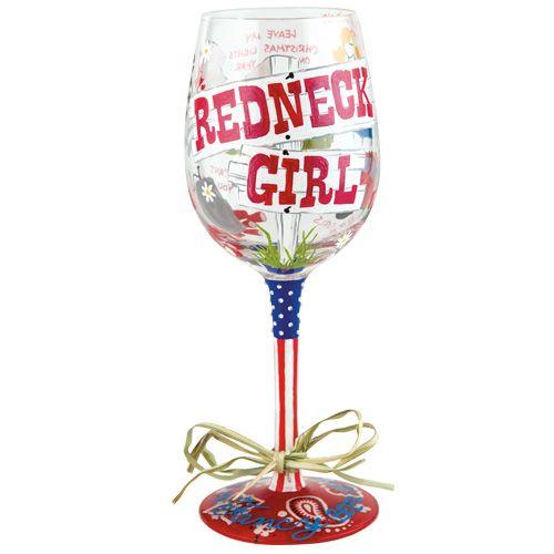 58f8a77355ef Redneck Girl Wine Glass by Lolita® - Lolita Wine Glasses.com ...