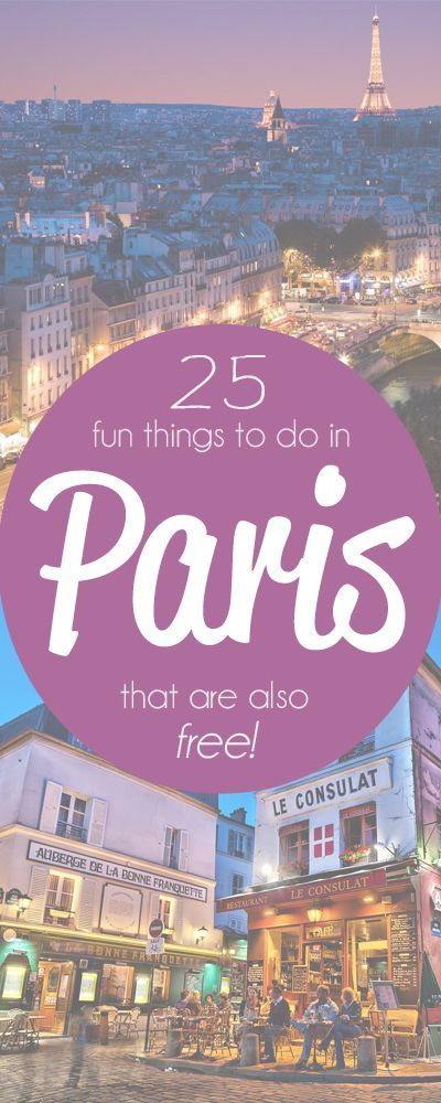 How to Visit Paris and Not Spend a Centime on Attractions