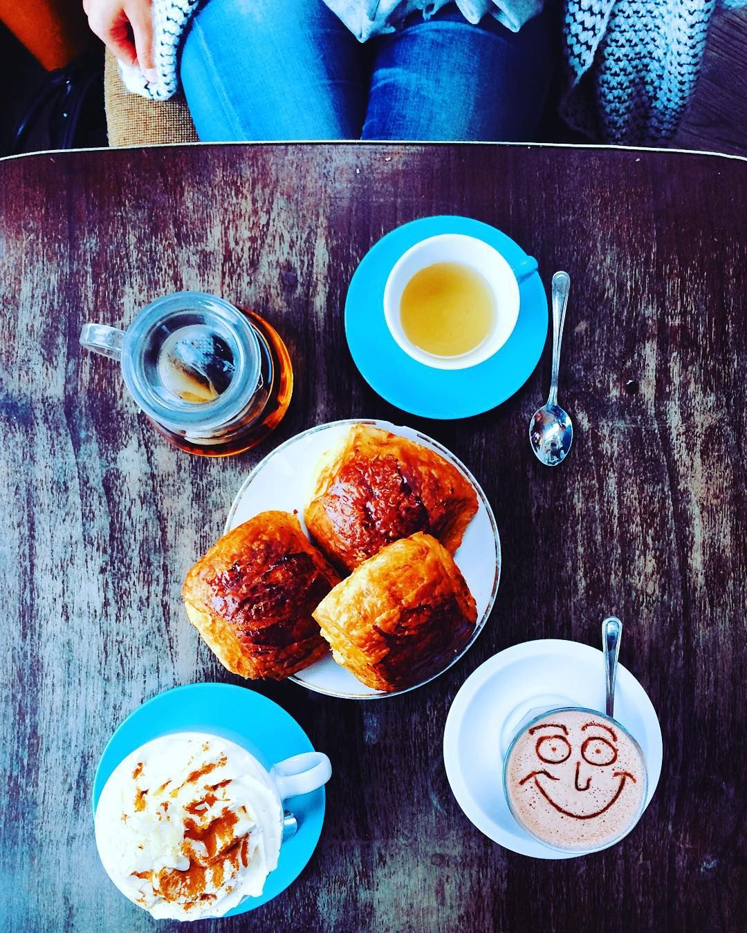 We want breakfast like this every day  #Coffee #cafe #coffeetime #coffeeaddict #coffeelover #coffeelovers