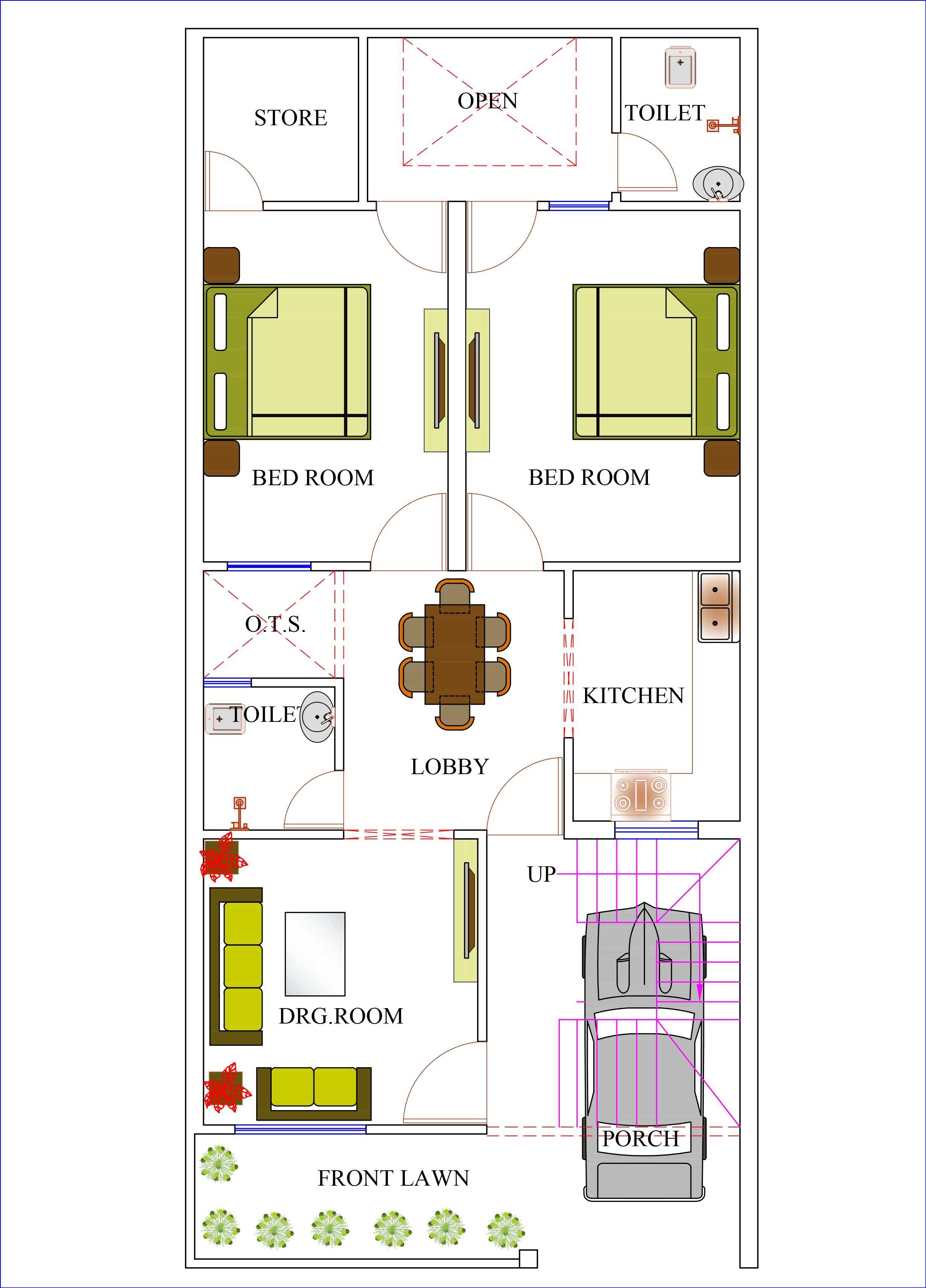 House Plans Home Plans House Designs Plans House Map Budget House Plans House Plans 2bhk House Plan