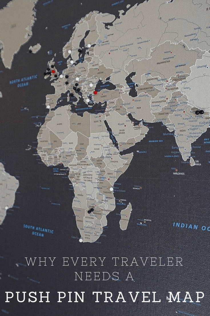 Why Every Traveler Needs a Push Pin Travel Map | Reviews ...