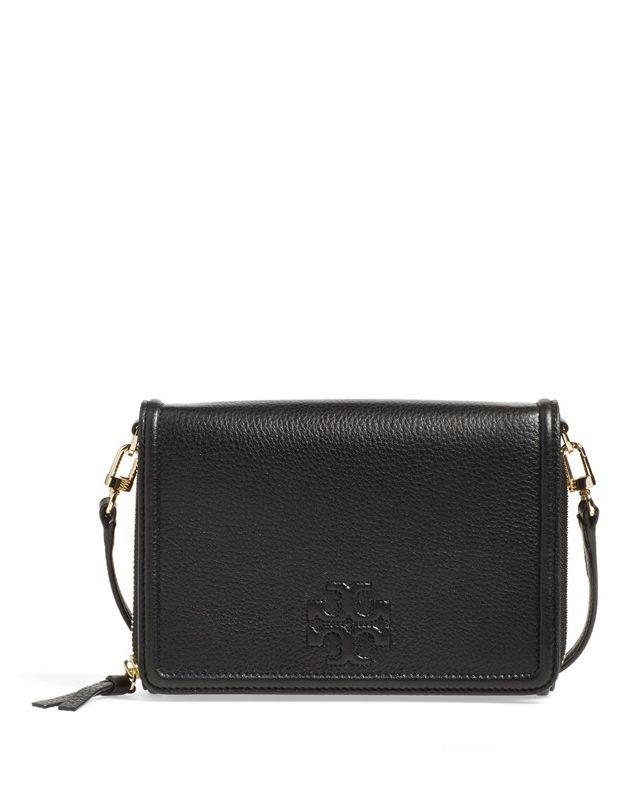 327bffbdce1 tory burch thea flat wallet crossbody bag