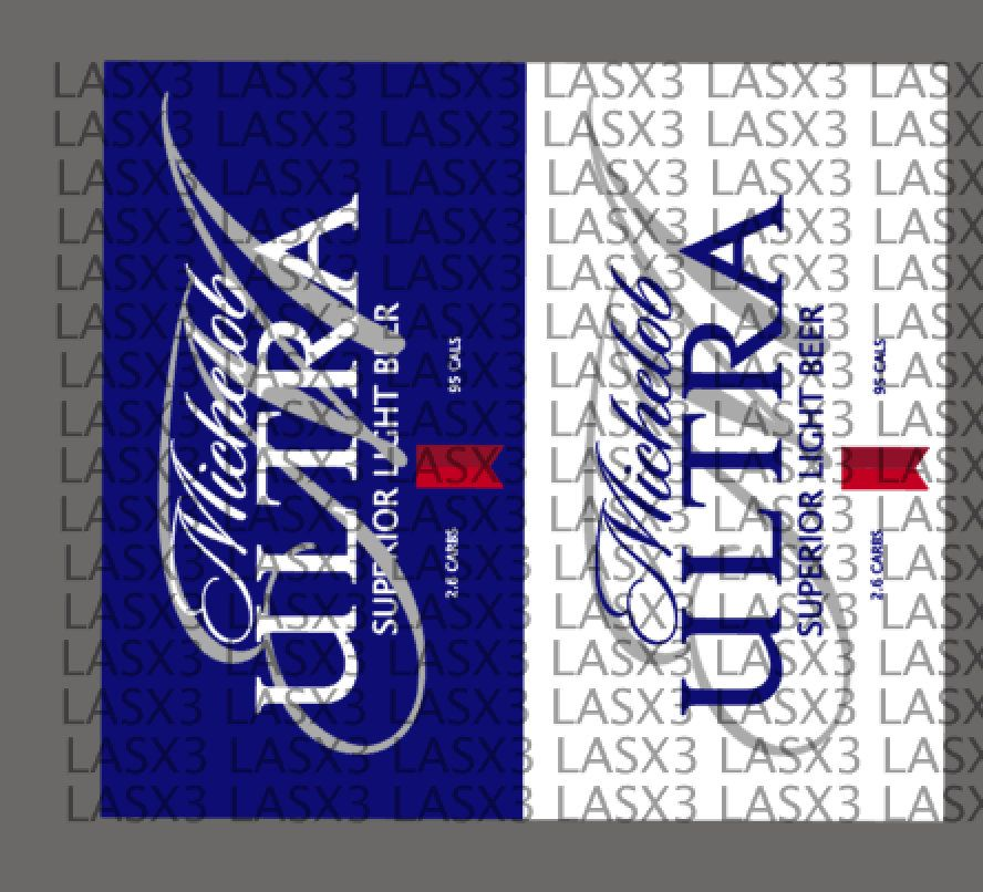 Michelob Ultra Label Png Tumbler Beer Sublimation Michelob Svg Michelob Ultra Silhouette Cameo Projects Etsy