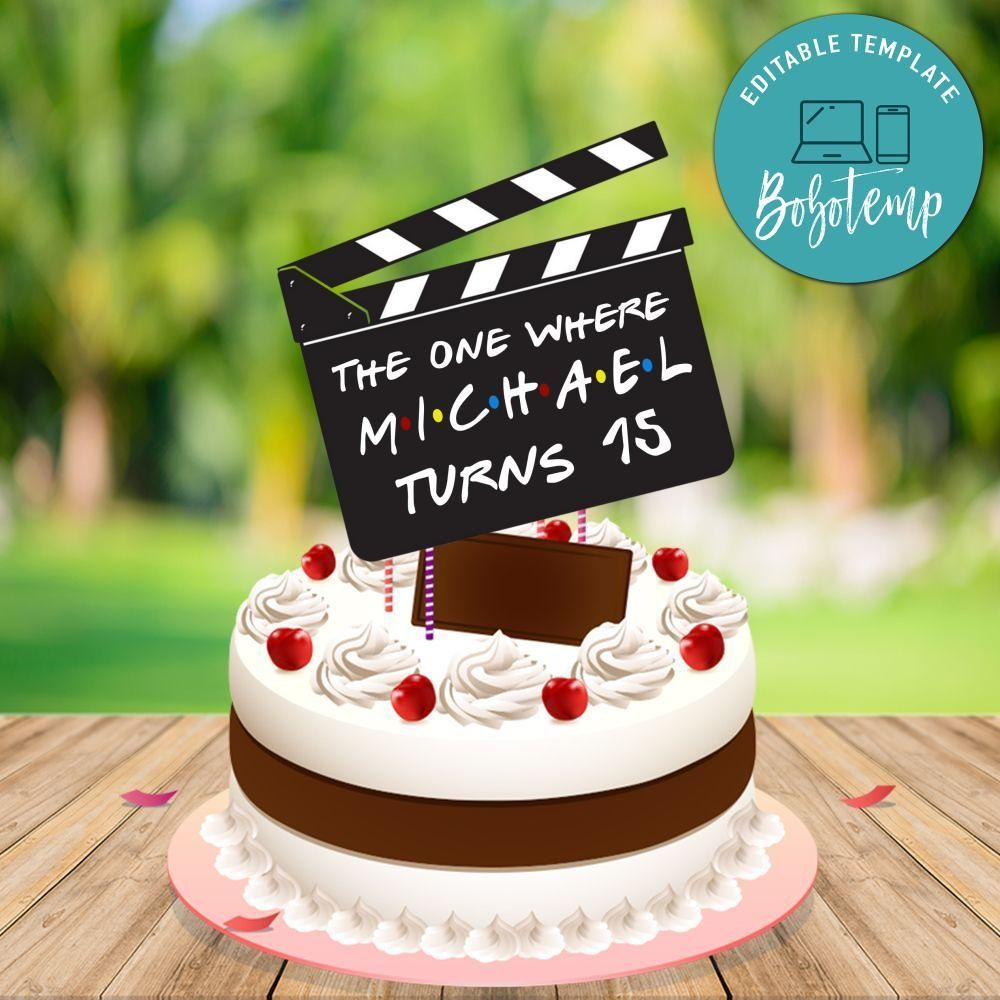 35++ Cake topper template printable ideas in 2021