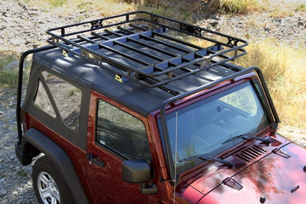 Lovely Ten Of The Best Jeep Wrangler Aftermarket Upgrades   6. Roof Rack/basket