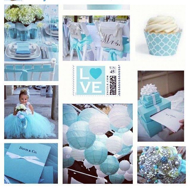 Tiffany Themed Party Alainas Sweet 16 Pinterest Themed