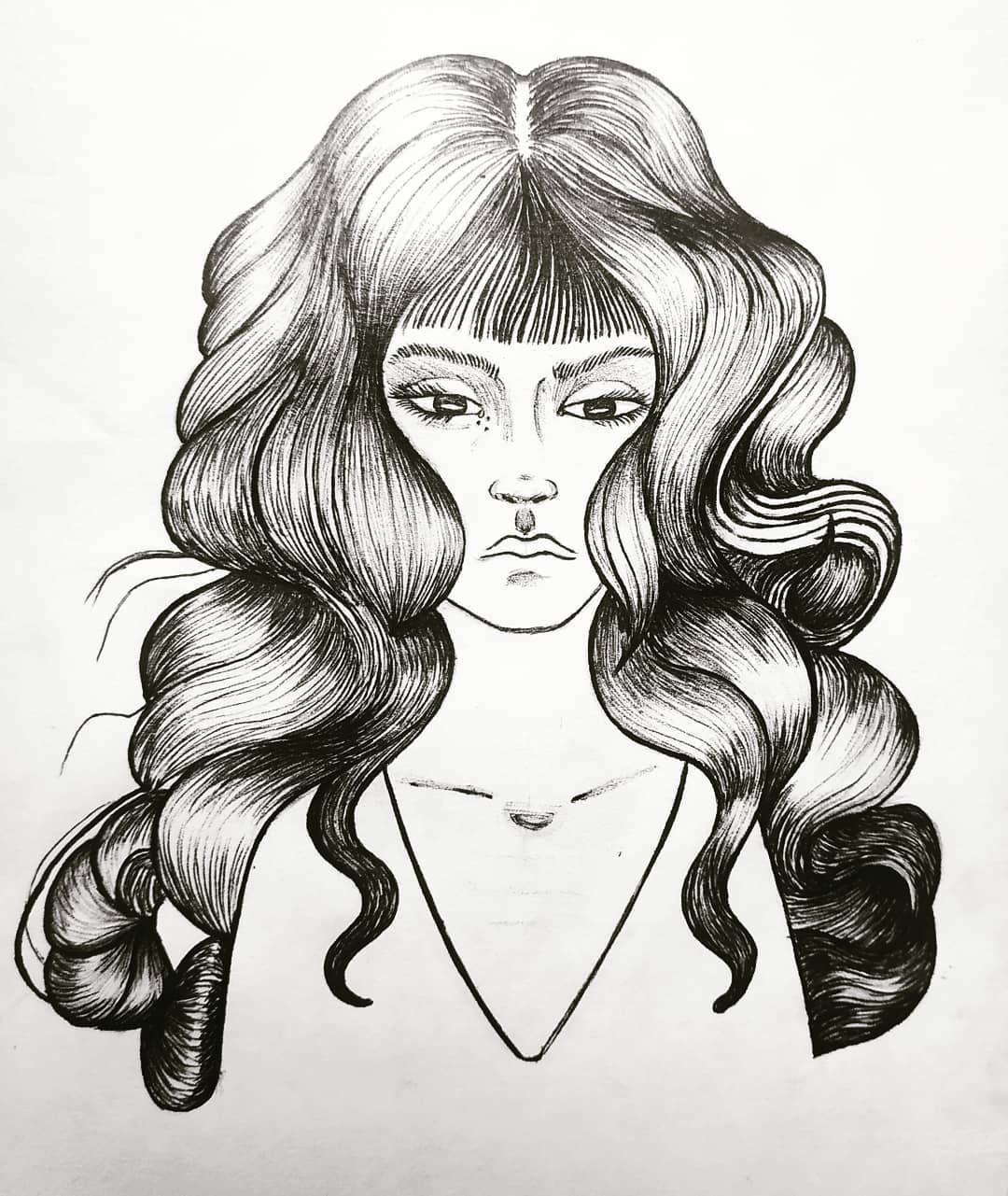 El amor no se mendiga ; . . . .  #sketch  #sketchbook #linework #lineas #tattoo #broken  #ilustracion #illustration #dibujo #arte #art #drawing #artecolombia #black #tattoosketch  #blacksoul #disester #tattoo #girl #hair #mujer #face #woman #love #amor