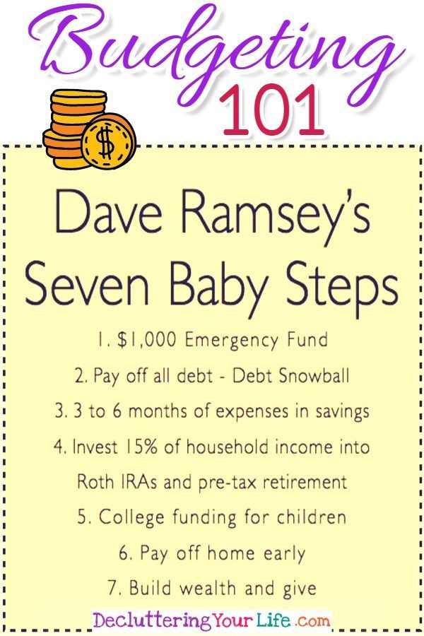 Budgeting 101 - Dave Ramsey\u0027s Debt Snowball to be Debt Free in 2018 - dave ramsey budget spreadsheet template