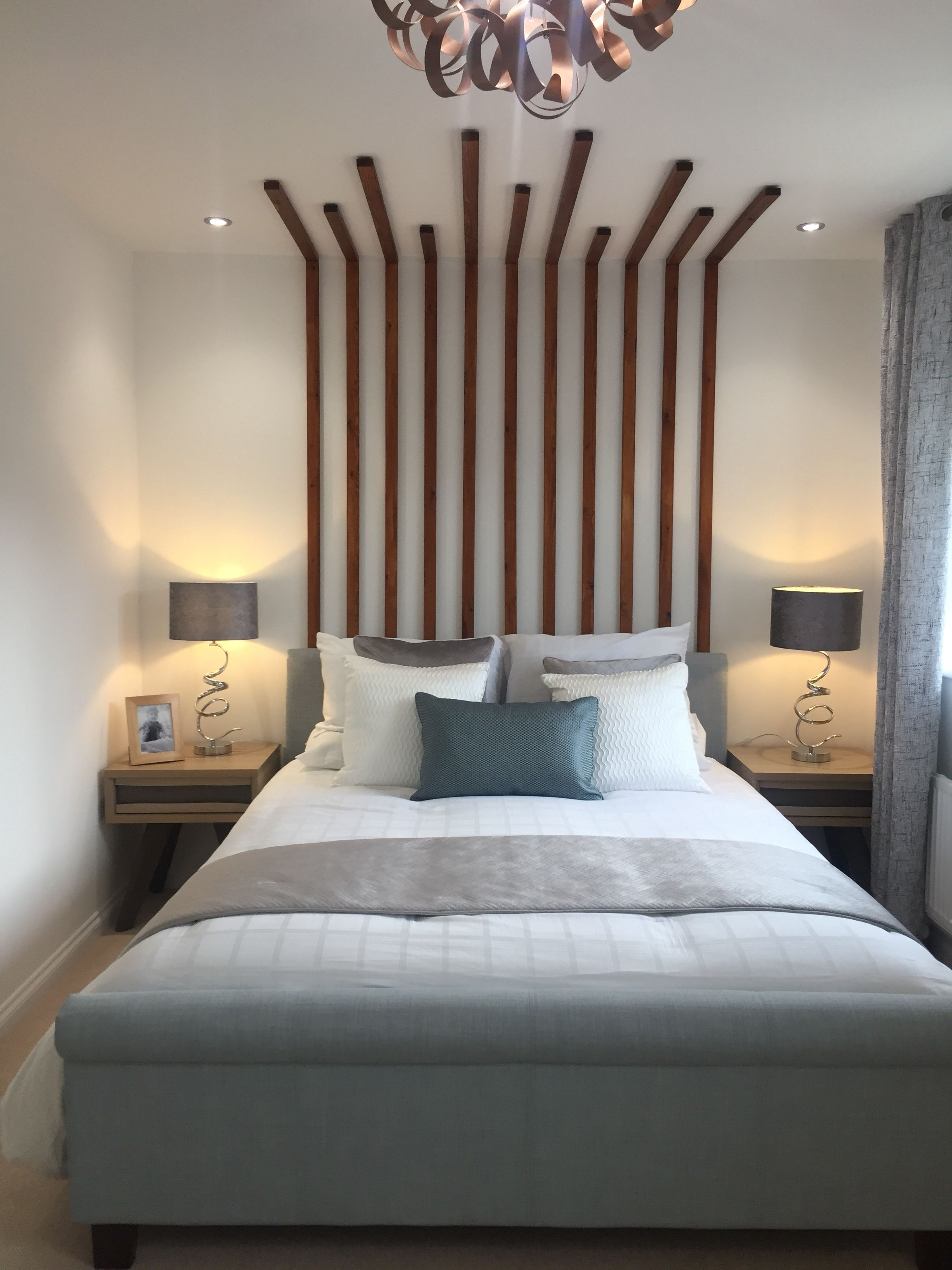 Feature Headboard Feature Wall Bedroom Timber Feature Wall Wall Bedroom Diy
