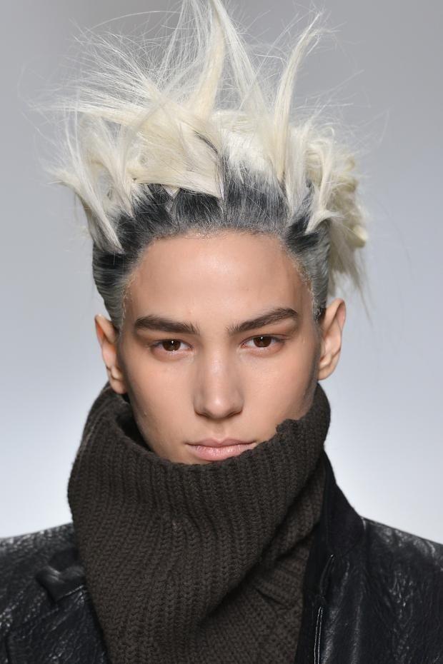 Haider Ackermann Punk Hairstyle Hair Makeup Pinterest Punk