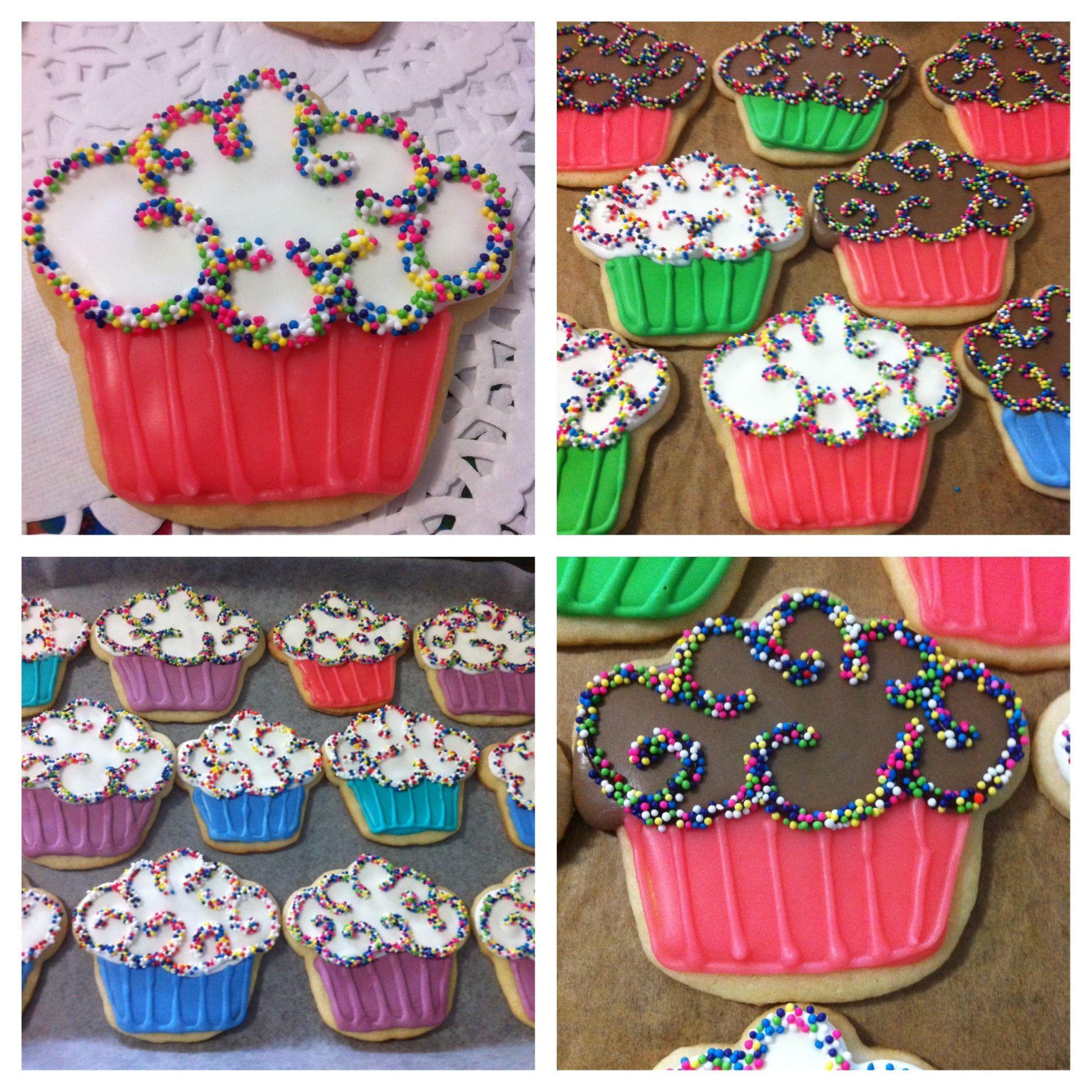 Birthday Cupcake Cookies!
