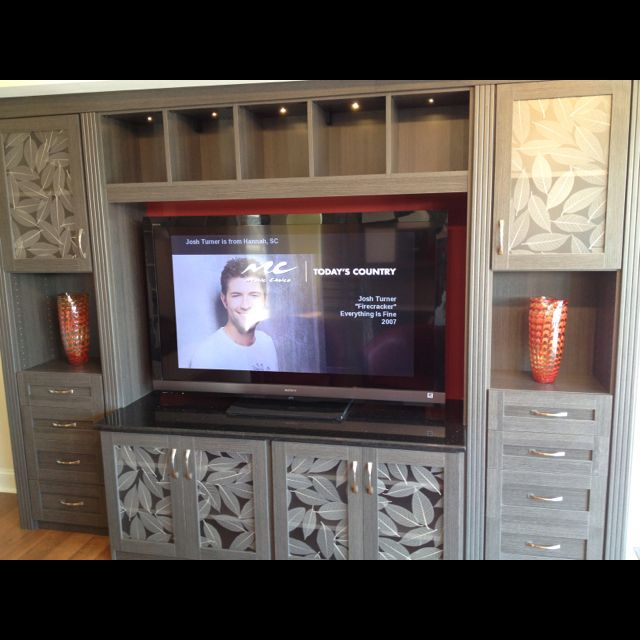 Another Beautiful California Closets System! Entertainment Unit! Weu0027re Not Just  Closets!