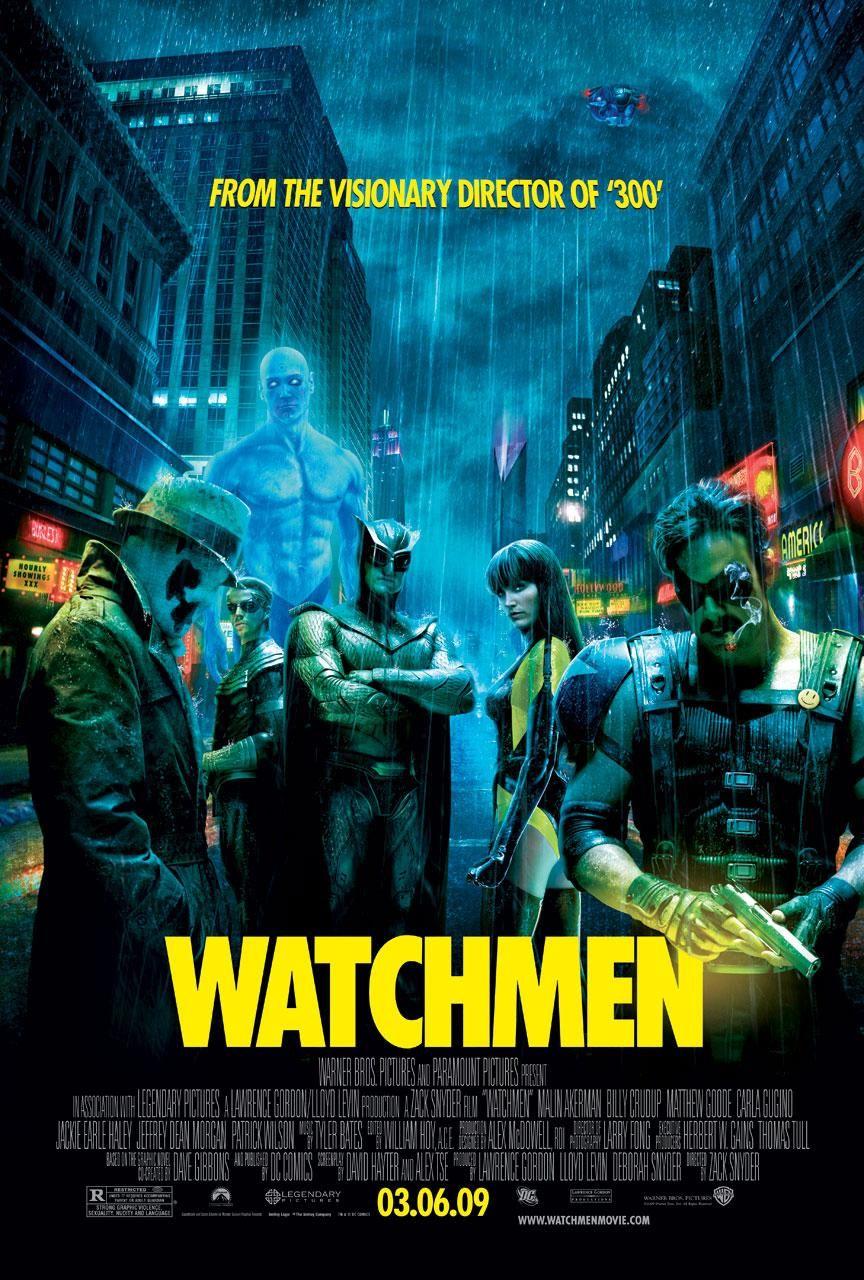 Watchmen 2009 Posters Peliculas De Superheroes Peliculas Carteleras De Cine