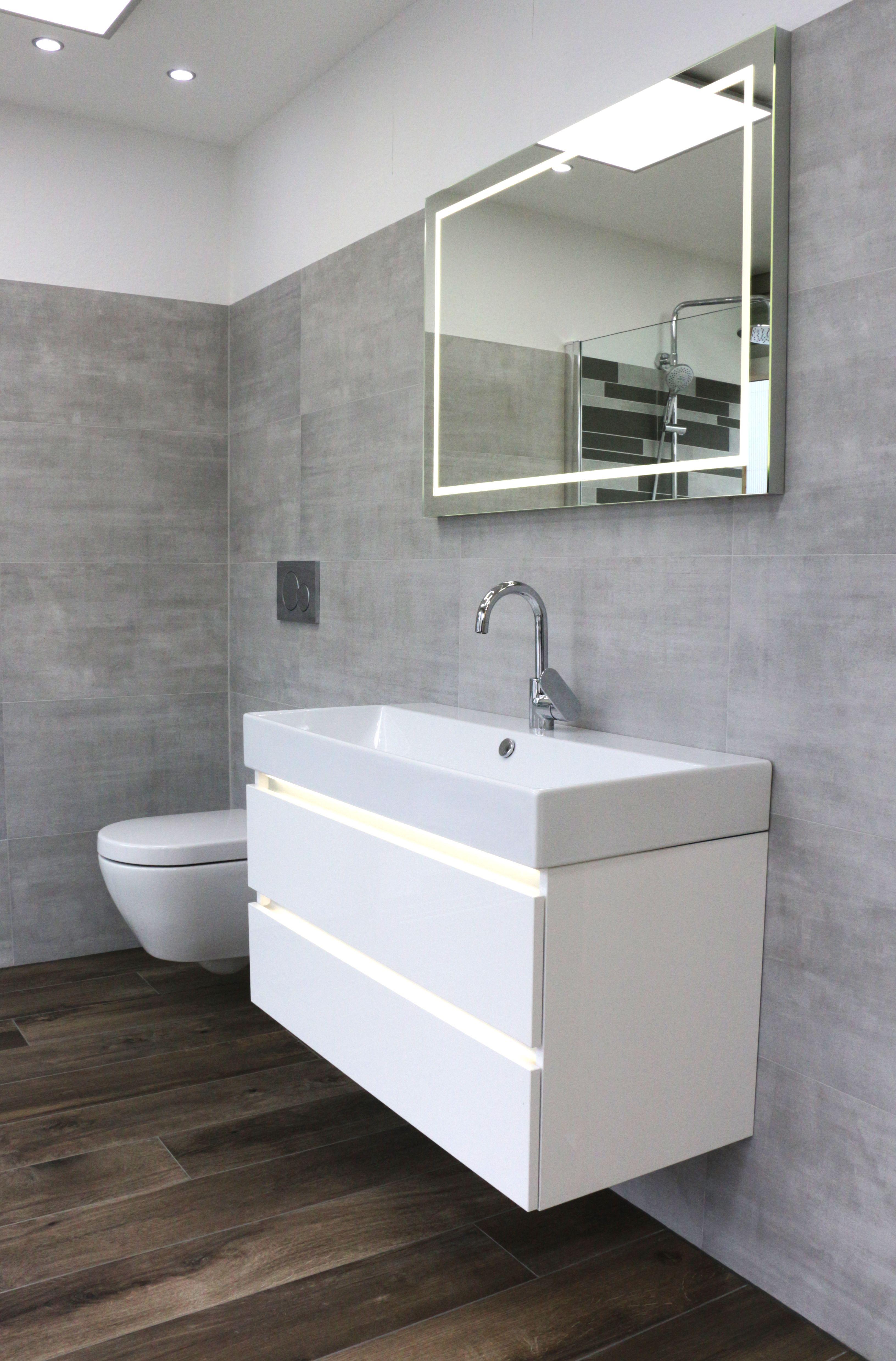 Topcollection Beton Bodenfliese Grigio 40x80 Cm Kleine Badezimmer Design Badezimmer Holzoptik Und Fliesen Wohnzimmer